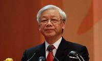 Нгуен Фу Чонг принял участие в онлайн-конференции правительства Вьетнама с районами страны