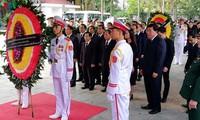 Траурная церемония прощания с президентом Чан Дай Куангом