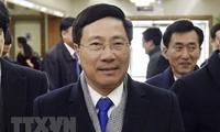 Начался официальный визит вице-премьера, главы МИД СРВ в КНДР