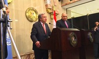Генсек ООН и президент Египта обсудили ряд важных региональных вопросов