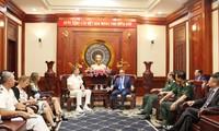 Нгуен Тхиен Нян принял командующего Индо-Тихоокеанским командованием ВС США