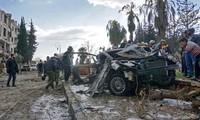 В результате взрыва заминированного автомобиля на северо-восточной Сирии пострадали мирные жители