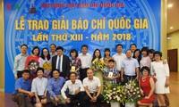 Встреча с журналистами Радио «Голос Вьетнама», получившими национальную премию в области журналистики