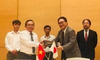 일본, 베트남 교육 및 의료 분야의  5개 프로젝트 무상원조