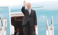 Nguyen Phu Trong 총서기장 프랑스 공화국 공식방문 및 쿠바 공화국 국빈 방문