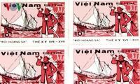 Hoang Sa, Truong Sa의 독특한 우표 수집품을 가진 농부