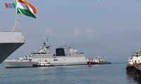 인도 해군 3 척, 다낭 방문