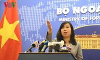 베트남, 베트남 황사 군도에서의 중국 군사훈련  반대