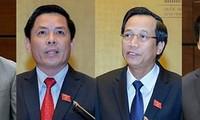베트남의 장관4 명,  제 14 기 국회 5 차 회기에서 질의응답