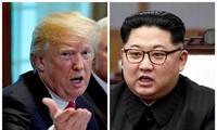 미국과 조선, 정상회담 관련 판문점 회합