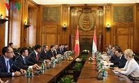 베트남과 헝가리의 다각적 관계 발전