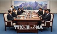 10 여 년만에 남조선민주주의인민공화국 간의 첫 번째 장성급 군사 회담