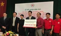 중국 적십자사, 베트남 북부 산악지대 수해자  지원