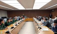베트남 – 일본,  6 차 방위정책대화 진행