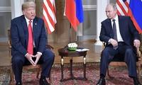 러시아 - 미국 정상 회담 : 일련의 중요한 국제 문제 논의