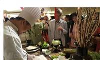 태국에서 베트남 문화와 음식 홍보