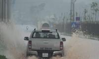 각 지역,  썬딩 폭풍 피해 신속히 극복