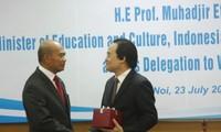 베트남은  동남 아시아 국가 교육장관들과 교육협력강화