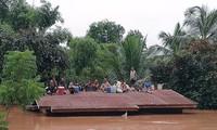 베트남, 라오스 동남부 댐 붕괴 피해자 지원