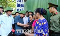 Trinh Dinh Dung 부총리, Hoa Binh성 심각한 사태 극복 지도