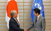 일본과 유엔, 대북제재 유지하기로
