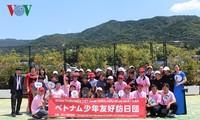 베트남 청소년, 일본 문화 체험