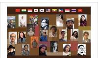 아시아 국가들 예술가들과 베트남 예술가들 간의 2018년 미술교류