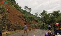 홍수 여파를  시급히  극복