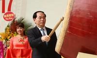Tran Dai Quang 국가주석, 새 학년을 맞아 전국 교사 치하