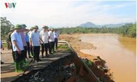 폭우, 홍수 여파 극복에 집중