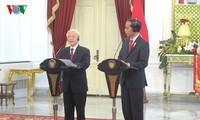 인도네시아  대통령 부부, 베트남 방문 예정