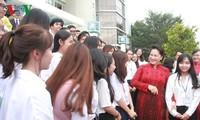Nguyen thi Kim Ngan 국회의장, Ho Chi Minh시 국가대학 방문