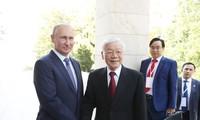 Nguyen Phu Trong 서기장의 러시아 연방 공식방문, 러시아 – 베트남 다면 협력관계의 심화에 새 동력