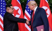 조선민주주의인민공화국, 한반도 비핵화 미국 동행 호소