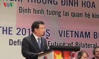 찐딘쭝 (Trịnh Đình Dũng) 베트남 부총리, 베트남 투자 미국 대기업 대표들과 회담