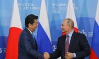 러시아 – 일본, 양국 분쟁 도서 공동 경제 사업 토론