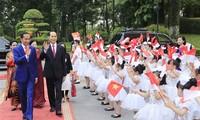 인도네시아 대통령, 베트남 국빈 방문 마무리