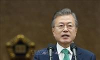 한국 대통령: 조선, 미국과 균형 잡힌 한 걸음을 내딛기로