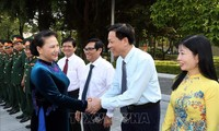 응웬티김응언 국회 의장, 국방아카데미  2018-2019학년 개강식에 참여