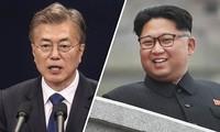 남북정상회담: 조선의 언론, 한반도 재통일 호소