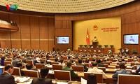 국회, 국가주석에 대한 인사 토의 및 선출