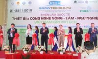 Vietnam Growtech 2018 – 15개국과 영토 참여