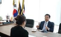윤상호 하노이 한인회 회장님과 진행된 인터뷰