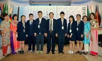 국제중학생 과학 올림피아드에서 4개 금메달 획득, 기록 갱신