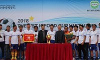 한국 졸업 베트남 유학생을 위한 ICFood축구 대회