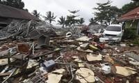 인도네시아 쓰나미, 사상자 수 계속 늘어나
