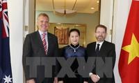 호주 상원 의장, 베트남 공식 방문