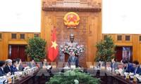 Nguyen Xuan Phuc 국무총리, 2019 기해년 현황에 대한 회의 주재