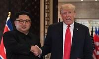 하노이 개최 미국-조선 정상회담의 성공을 위한  러시아와 중국 노력 약속