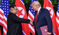 미국과 조선, 연락관 교환 가능성 고려